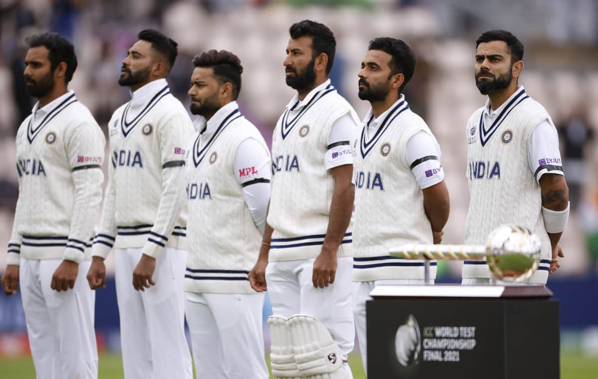 WTC Final -Team India players wear black armbands in memory of Milkha Singh