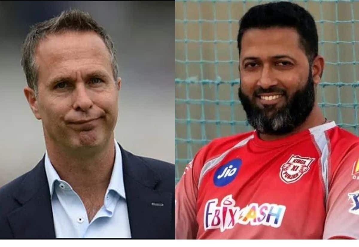 WTC Final: Wasim Jaffer Hits Back After Michael Vaughan Takes A Jibe At Indian Team