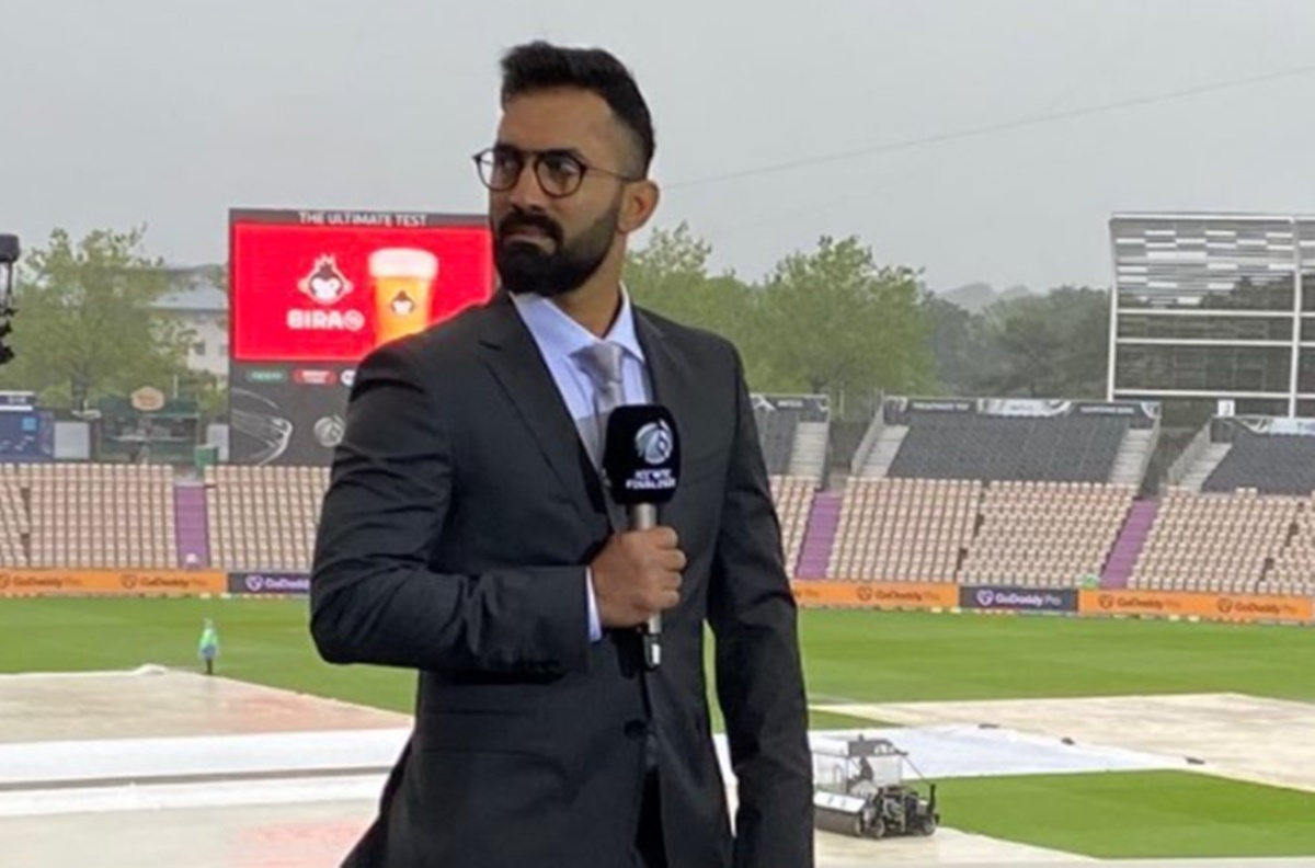 Cricket Image for Wtc Final Twitter Reaction On Dinesh Karthik In The Commentary Box