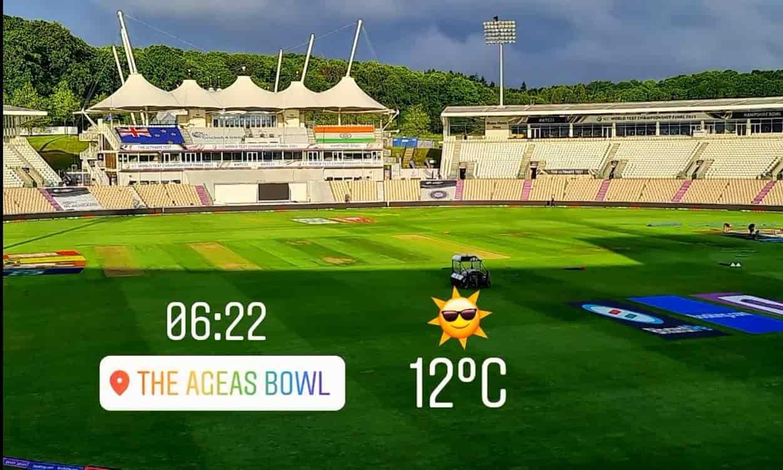 Cricket Image for WTC Final: साउथैम्पटन में दूसरे दिन खिली धूप, समय पर शुरू हो सकता है भारत-न्यूजीलै