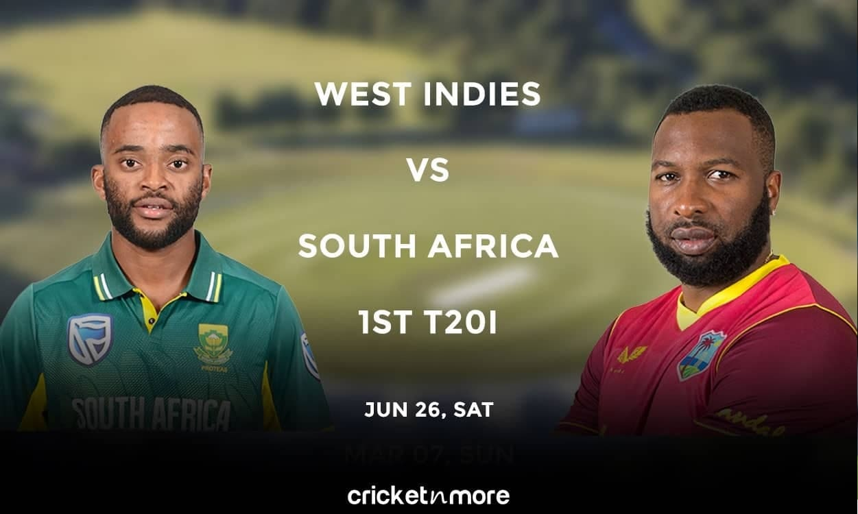 West Indies vs South Africa, 1st T20I – Prediction, Fantasy XI Tips & Probable XI