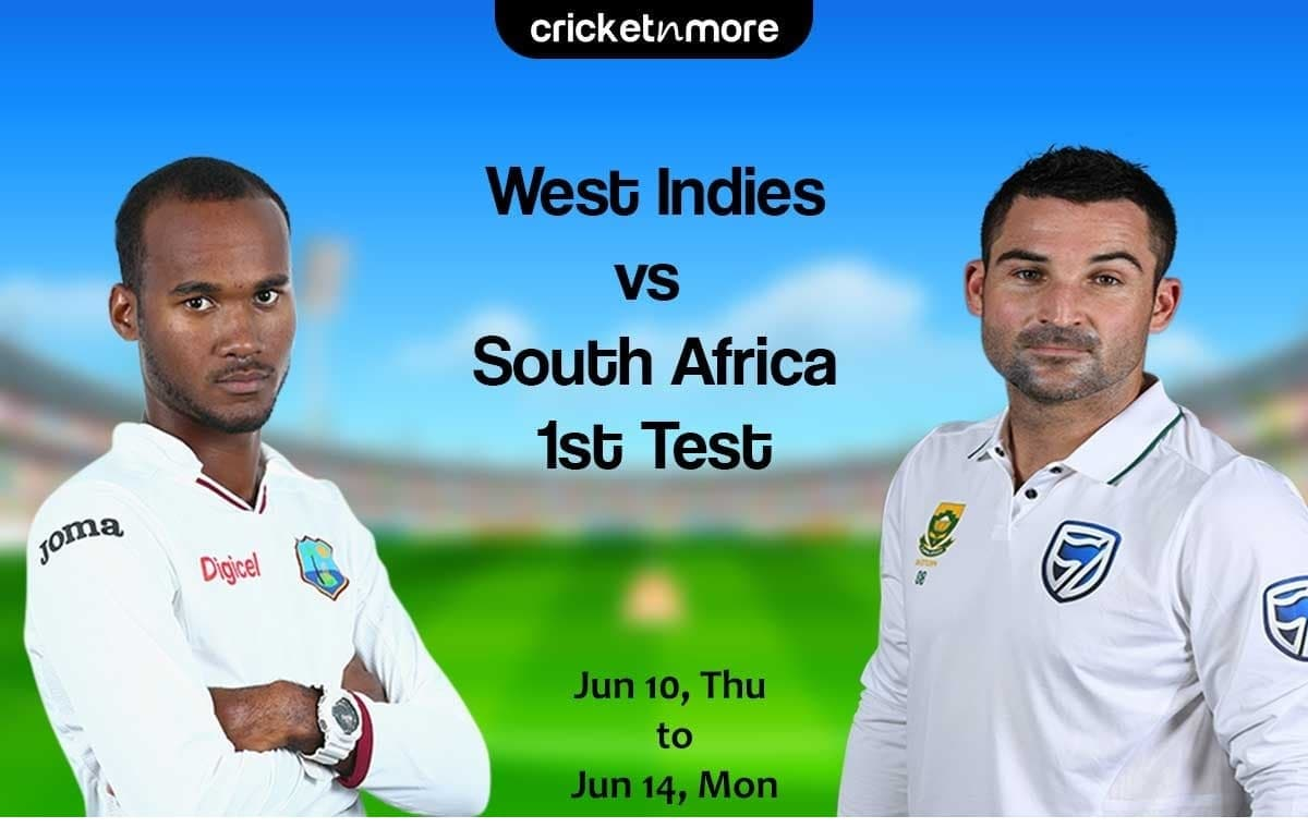 West Indies vs South Africa, 1st Test – Prediction, Fantasy XI Tips & Probable XI