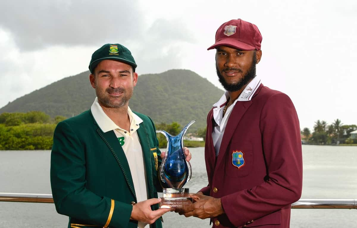 West indies opt to bat first against south africa in 1st test