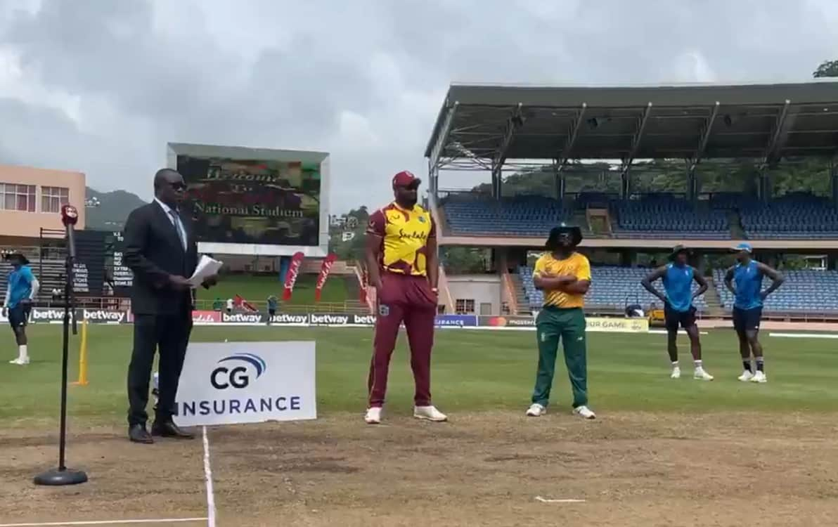 West Indies opt to bowl first against  South africa in 1st T20I