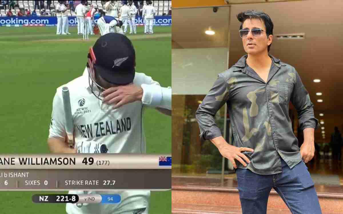 Cricket Image for 'सोनू भाई, प्लीज़ विलियमसन को पवेलियन भेज दो', फैन के ट्वीट पर सोनू सूद ने दिया मज