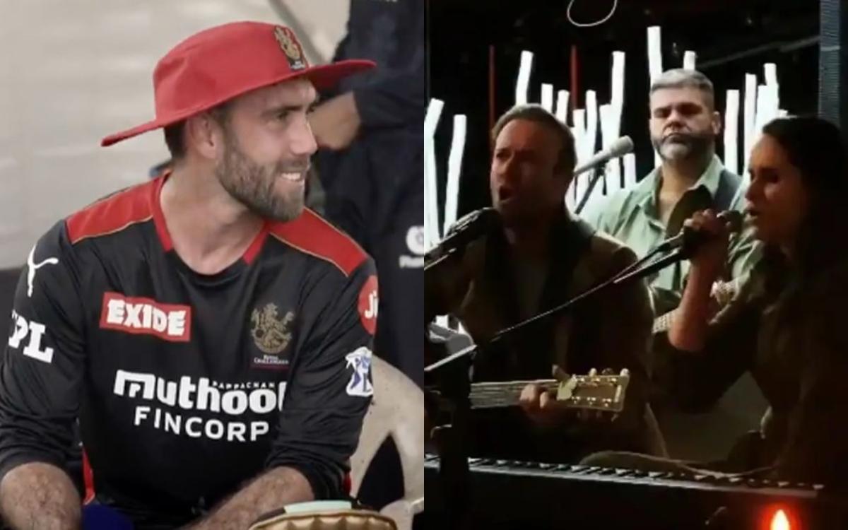 Cricket Image for VIDEO : पापा के जन्मदिन पर डी विलियर्स ने गाया गाना, तो ग्लेन मैक्सवेल ने कर दिया