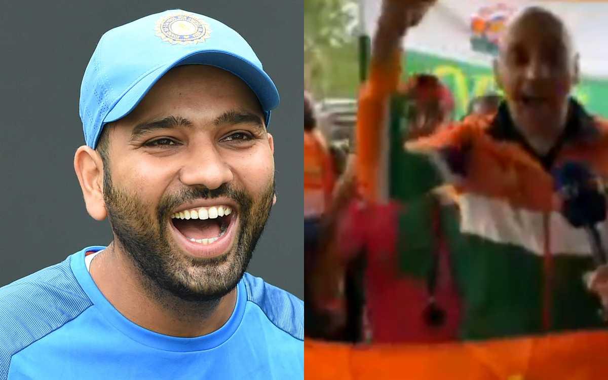 Cricket Image for VIDEO : साउथैम्पटन में फैंस ने गाया 'हिटमैन सॉन्ग', बारिश के बावजूद किया टीम इंडिय