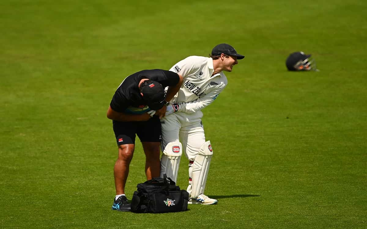 Cricket Image for WTC Final: BJ Watling Displays Courage On His Last Day Of Test Cricket