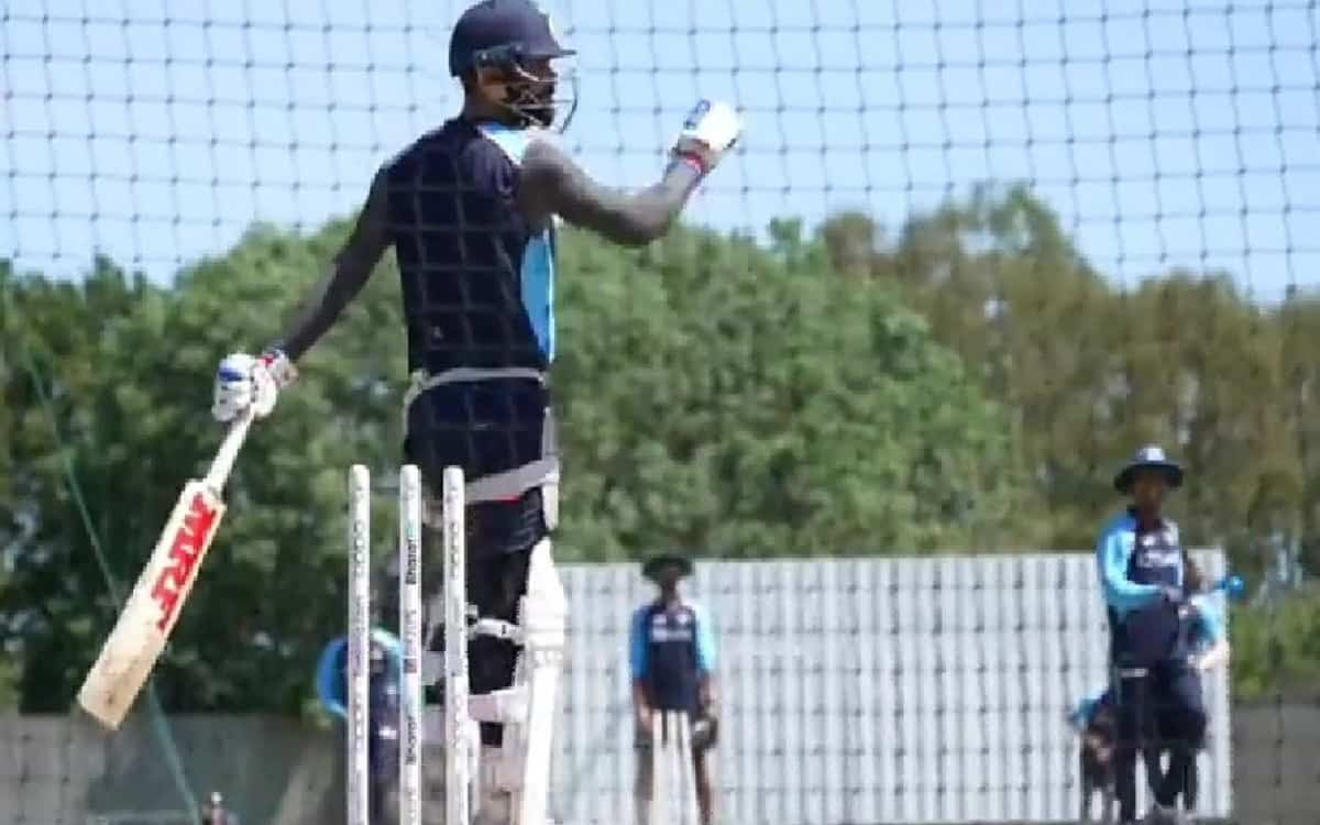 Captain virat Kohli preparing for WTC final and practiced fiercely in the nets