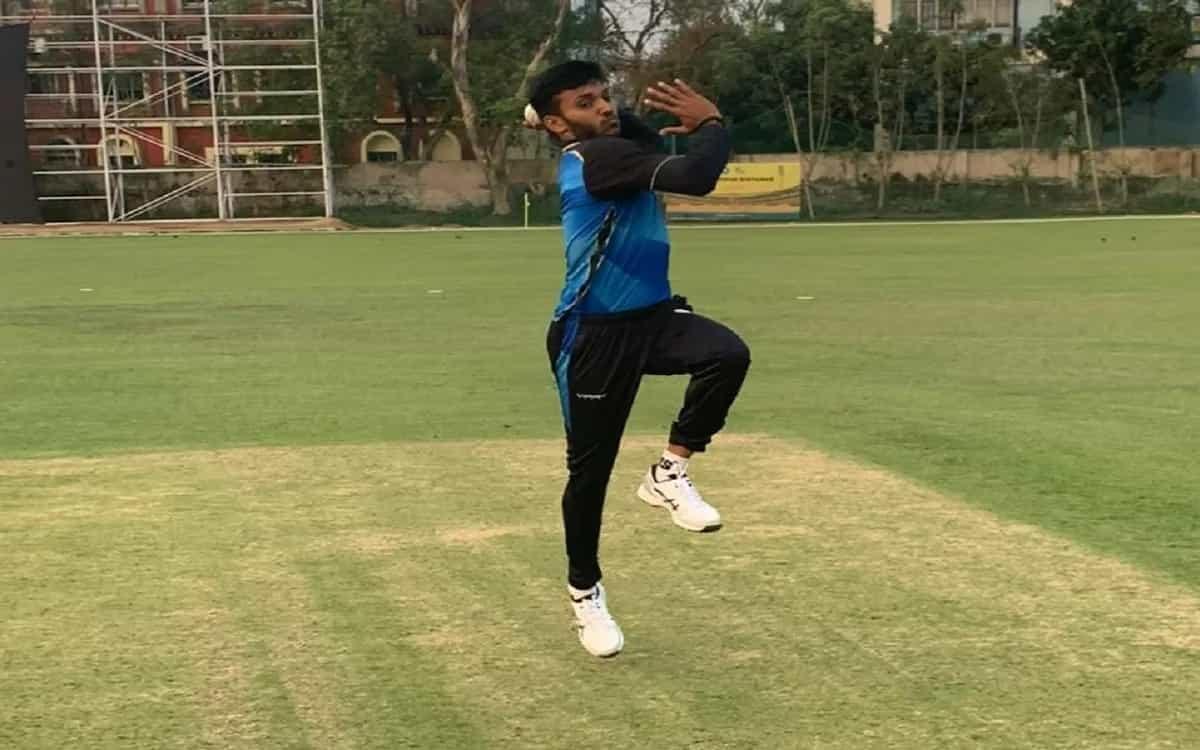 Cricket Image for Chetan Sakaria Preparing For Sri Lanka Tour By Starting Training Started In Chenna