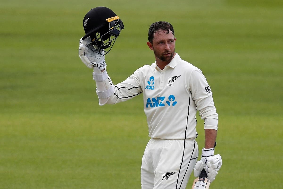 Cricket Image for ENG v NZ, 1st Test: New Zealand's Conway Joins Test Debut 200 Club