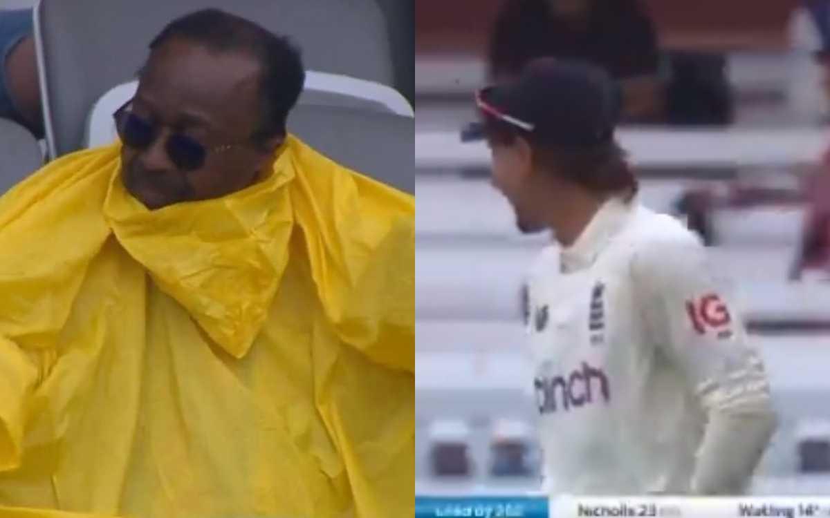 Cricket Image for VIDEO : लॉर्ड्स के मैदान पर शख्स ने की ऐसी हरकत, फैंस और खिलाड़ी भी नहीं रोक पाए ह
