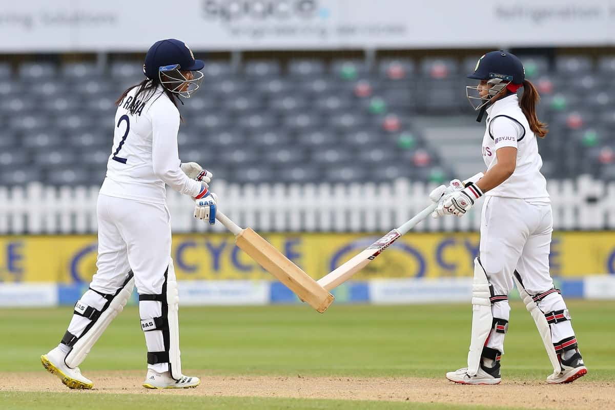 Cricket Image for ENG W v IND W: Sneh Rana, Shafali Verma Star In India's Fighting Draw Against Engl