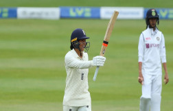 England pitch took the Indian women's team by surprise that pitch in favor of batsmen