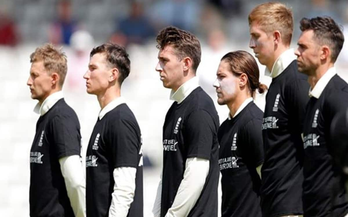 England players seen in anti-discrimination jerseys ahead of second Test with slogan Cricket is a game for everyone
