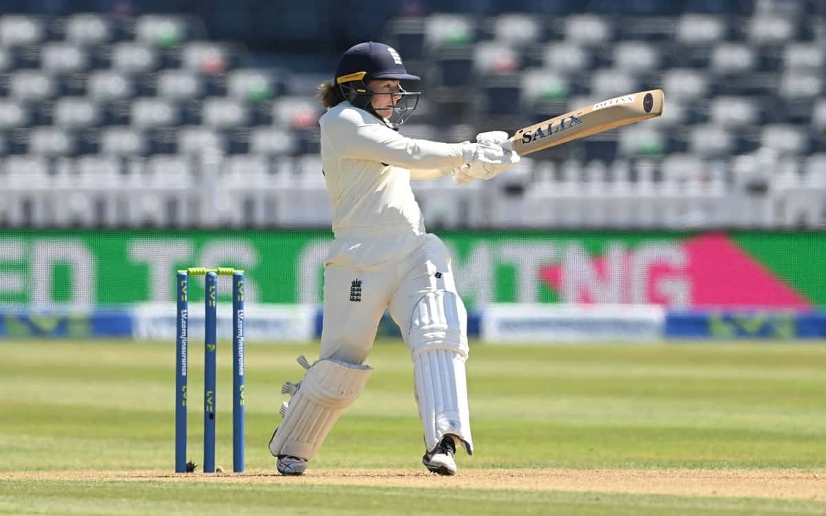 Cricket Image for England Womens Teams Comfortable Batting Against India Scored 86 Runs On One Wicke