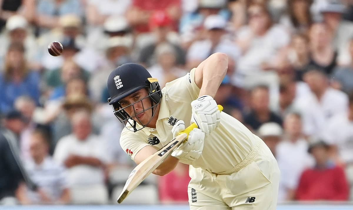 Cricket Image for England'S Burns Lauds Lawrence After Tough Day Against New Zealand