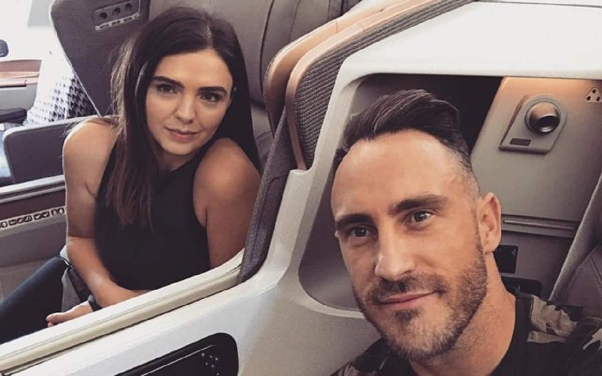 Cricket Image for The Wife Raised Her Voice On The Injury Of Faf Du Plessis Said There Is A Need To