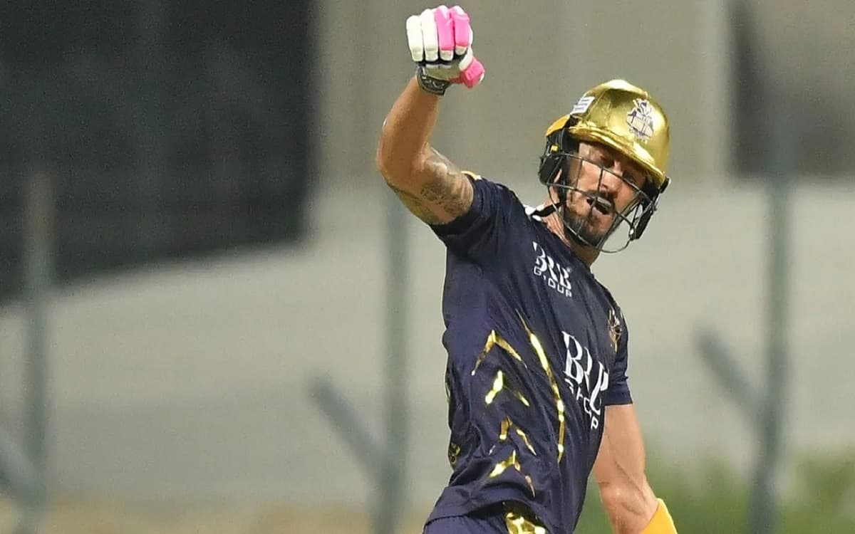 Cricket Image for Faf Du Plessis Out Of The Rest Of The Psl Matches