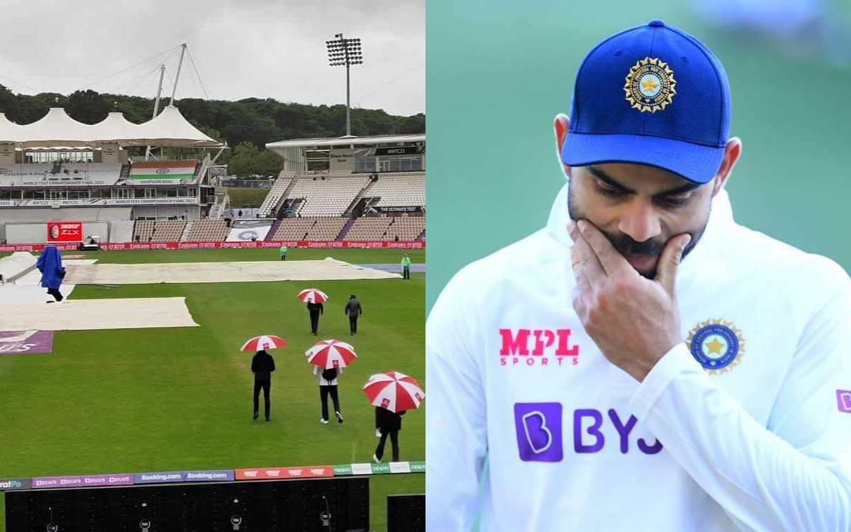 Cricket Image for 'आईसीसी ये तूने क्या किया', साउथैम्पटन में बारिश के चलते फैंस का फूटा ICC पर गुस्स