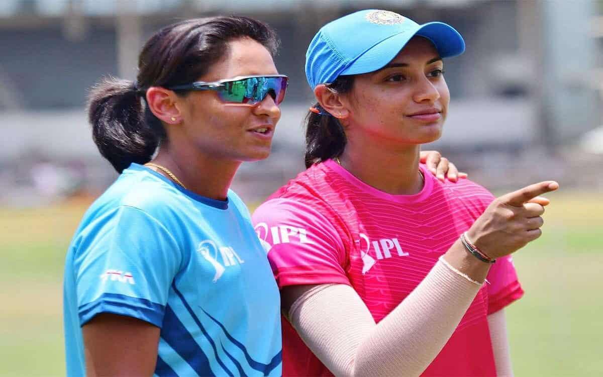 Cricket Image for स्मृति और हरमनप्रीत समेत पांच भारतीय महिला खिलाड़ी 'द 100' में खेलेंगी, ECB द्वारा