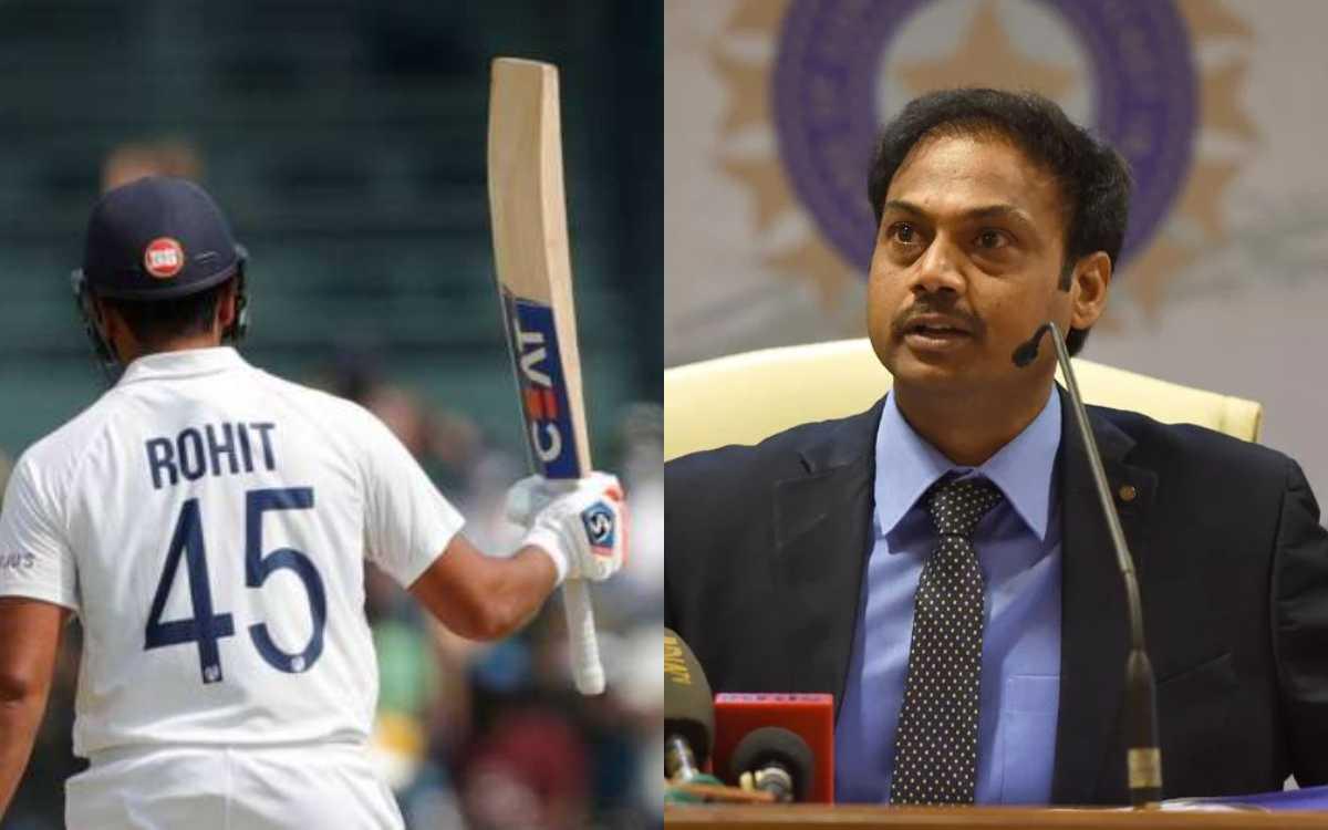 Cricket Image for रोहित कैसे बने टेस्ट ओपनर, कैसे हुए उनकी एंट्री की प्लानिंग; एमएसके प्रसाद ने खुद