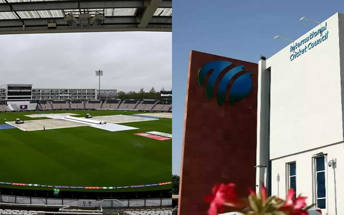 Cricket Image for ICC Red-Faced After WTC Final Falls Prey To Inclement Weather