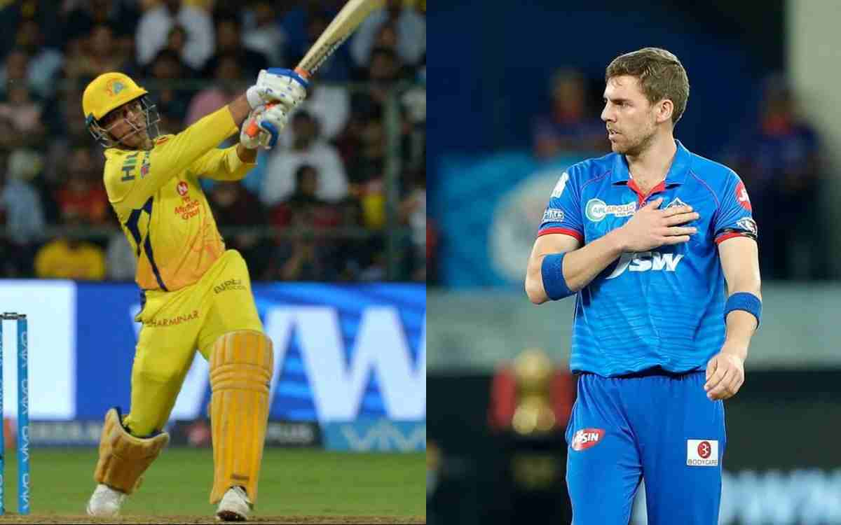 Thought Dhoni Didn't Know How To Bat': Anrich Nortje Recalls His First Meeting With Former Indian Captain On Cricketnmore