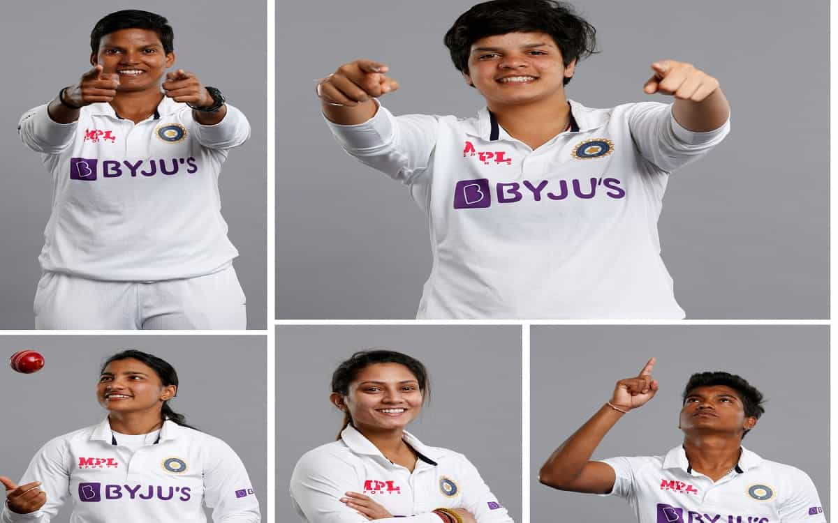 Cricket Image for Indian Womens Team Landed On The Field To Play Test After Seven Years In Which Fiv