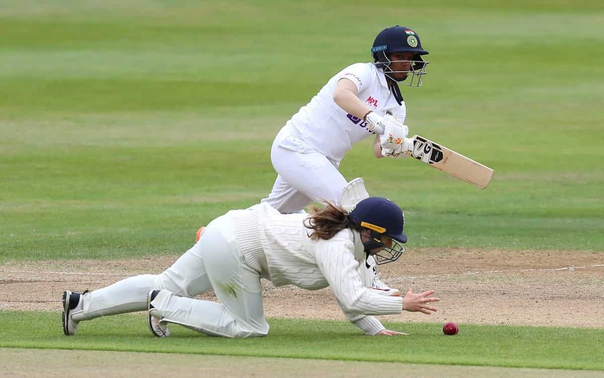 Cricket Image for ENGW vs INDW: Indian Women 83/1 In 2nd Innings As Rain Forces Early End To 3rd Day