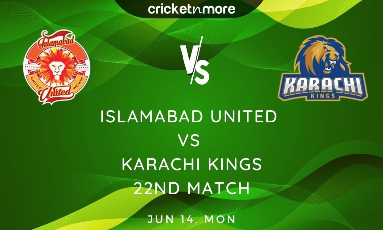 Cricket Image for Islamabad United vs Karachi Kings, PSL 2021 – Prediction, Fantasy XI Tips & Probab