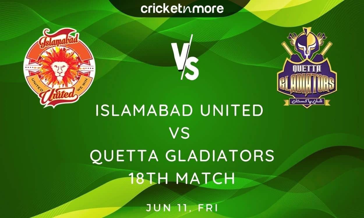 Cricket Image for Islamabad United vs Quetta Gladiators, PSL 2021 – Prediction, Fantasy XI Tips & Pr
