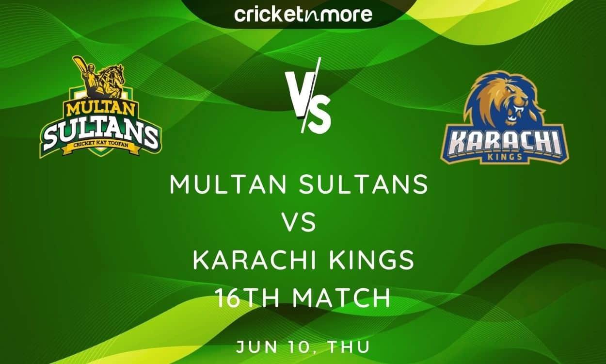 Cricket Image for Karachi Kings vs Multan Sultans, PSL 2021 – Prediction, Fantasy XI Tips & Probable