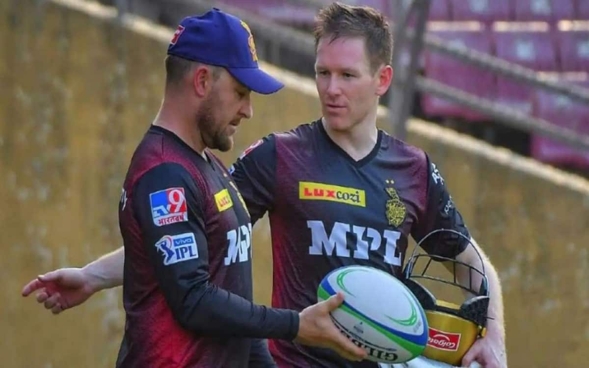 Cricket Image for KKR's Eoin Morgan, Brendon McCullum Could Be In Trouble For 2018 Tweets