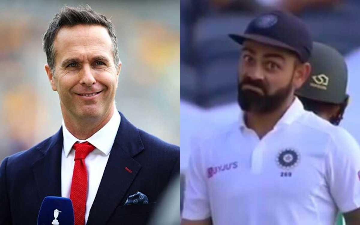 Cricket Image for एक बार फिर माइकल वॉन ने उगला ज़हर, पहला दिन धुलने के बाद टीम इंडिया पर साधा निशाना