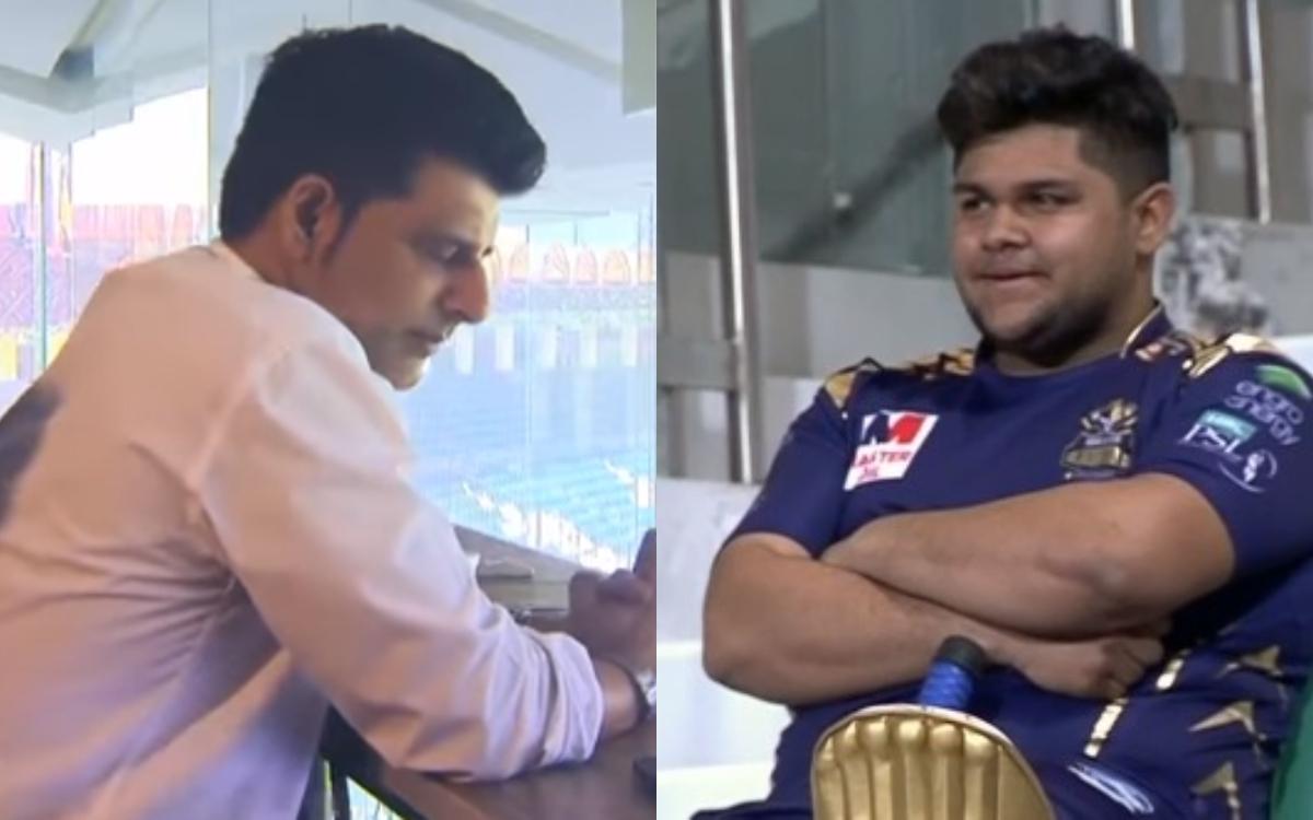 Cricket Image for VIDEO: 'सर, आप सच बोल रहे हैं ना', पाकिस्तानी टीम में सेलेक्शन होने पर नहीं हुआ आज