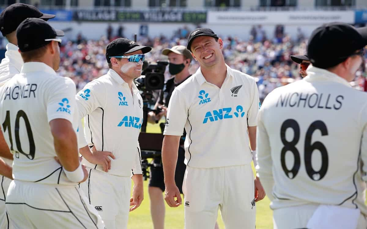 Cricket Image for New Zealand Dominated The Third Day Of The Test Match By Achieved An 85 Run Lead