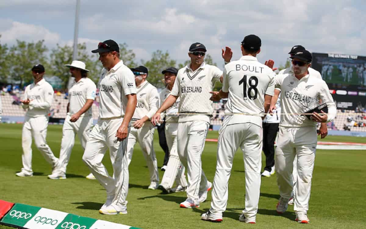 Cricket Image for New Zealand Have A Big Chance To Win The Title Of Wtc Final By Settling India Chea