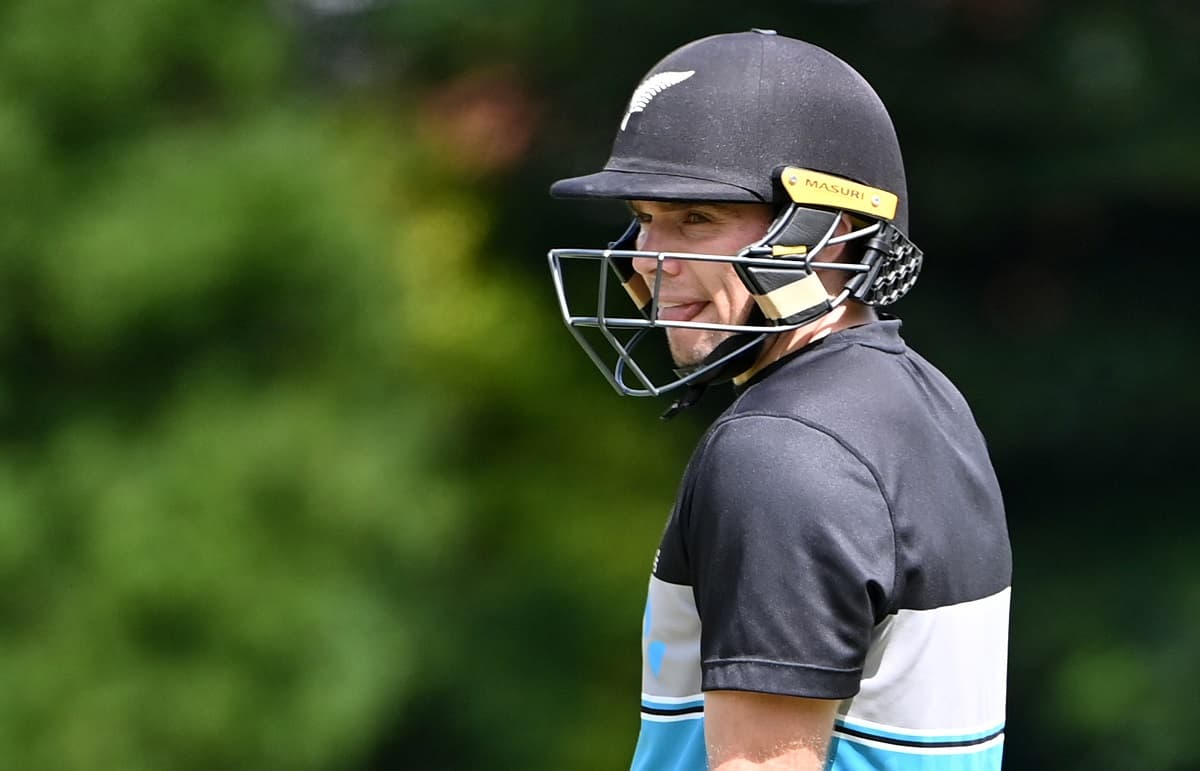 Cricket Image for New Zealand's Stand-In Captain Tom Latham Eyes History At Edgbaston