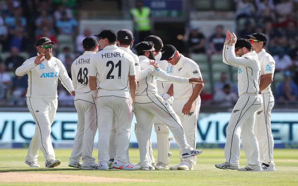 Cricket Image for New Zealand Just A Short Distance Away From Winning The Second Test Match England