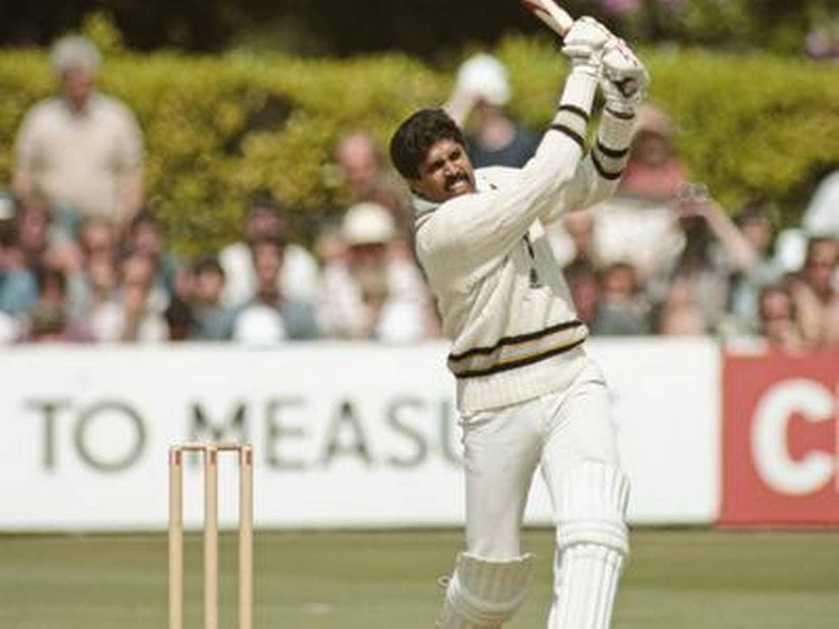Cricket Image for On This Day, 38 Years Ago - Kapil Dev Slammed 175 Against Zimbabwe In 1983 World C
