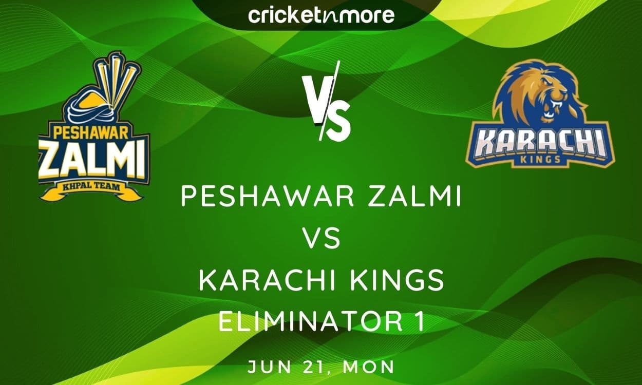 Cricket Image for Peshawar Zalmi vs Karachi Kings, Eliminator – Prediction, Fantasy XI Tips & Probab