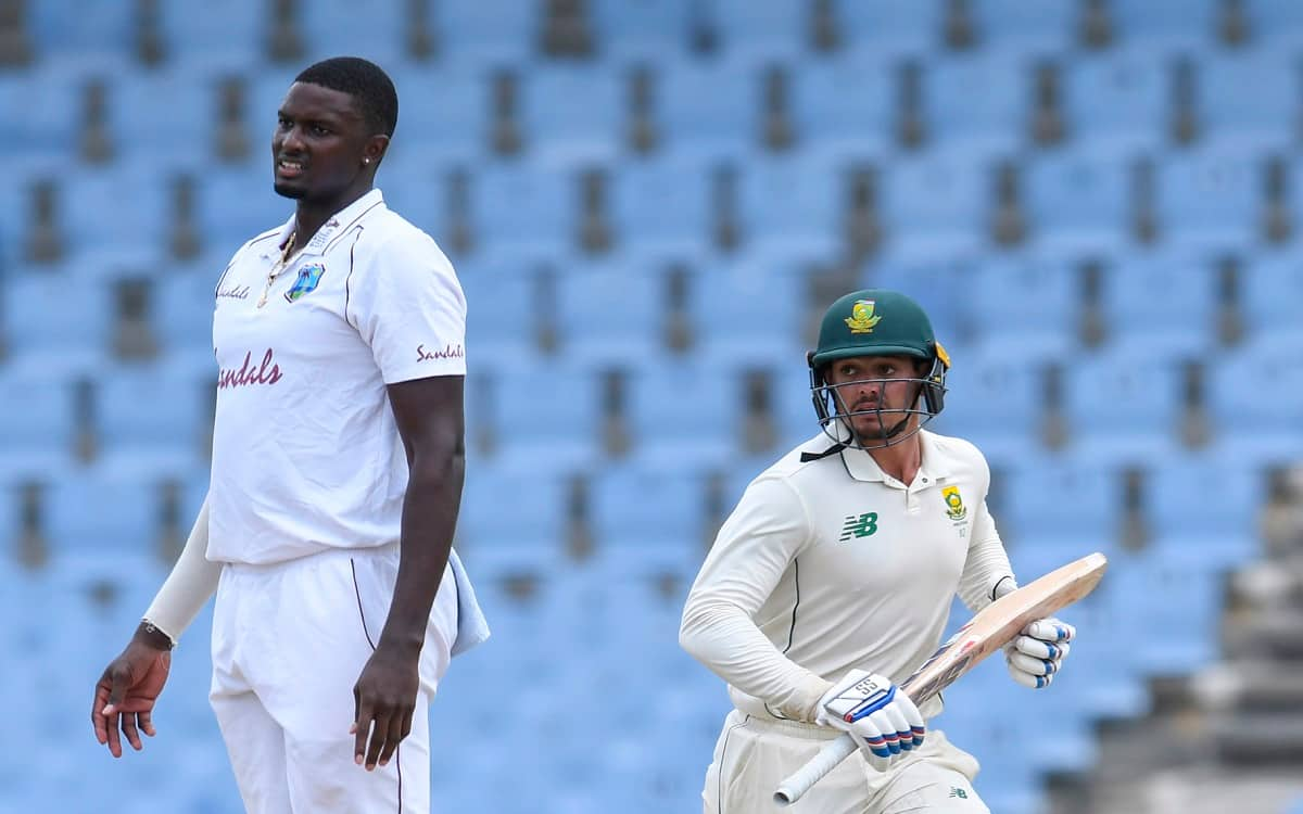 Cricket Image for WI vs SA: Quinton De Kock helps South Africa build lead over West Indies