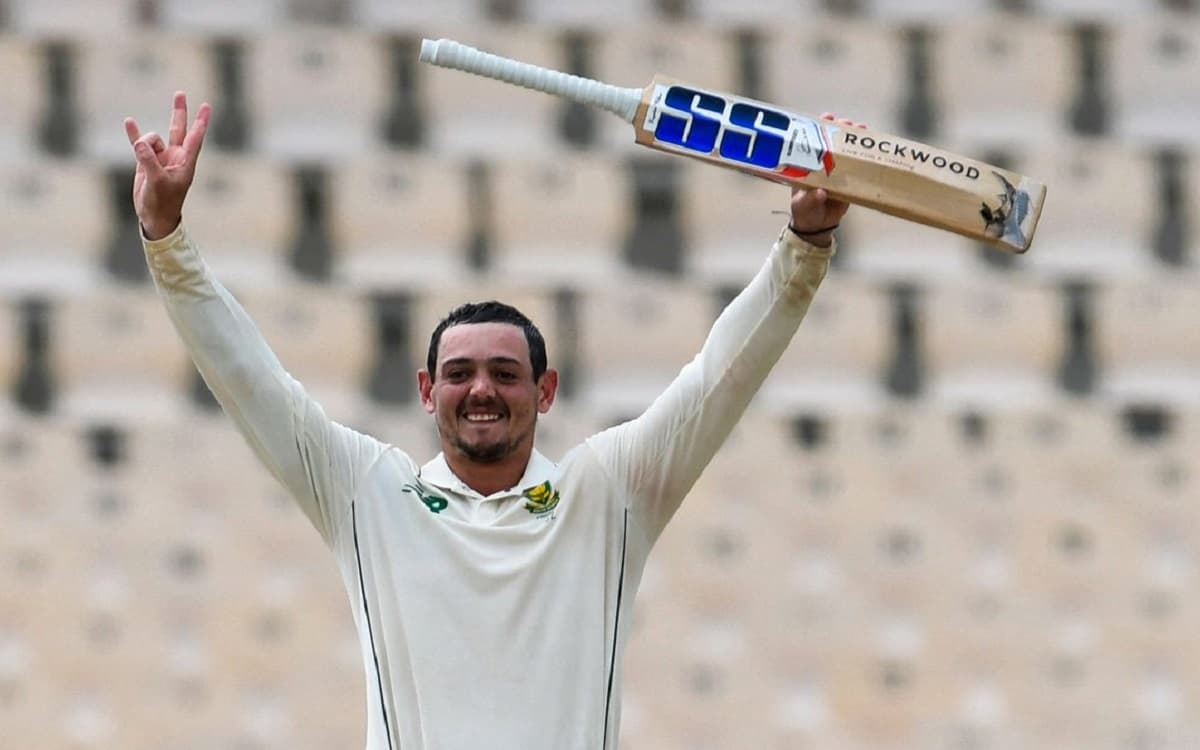 Quinton de Kock came to the rescue of Rhino after dedicating his century against West Indies
