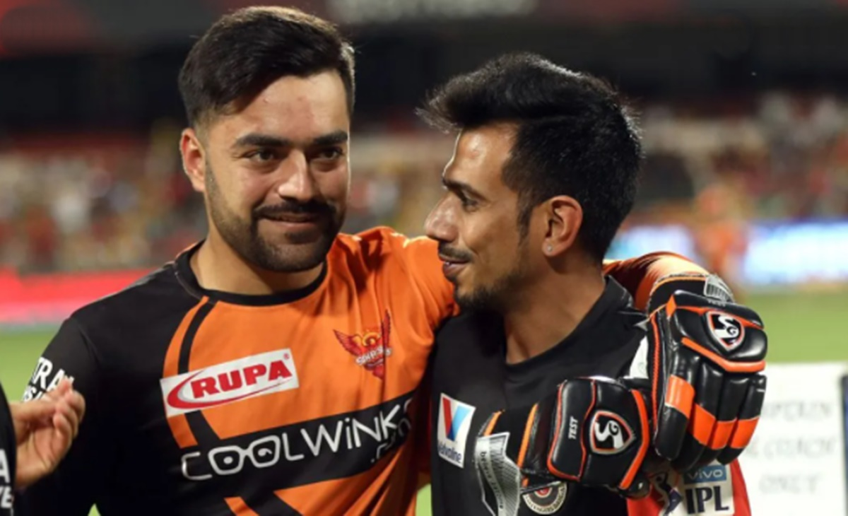 Cricket Image for Rashid Khan And Hardik Pandya Mocks Yuzvendra Chahal And Dhanshree Verma