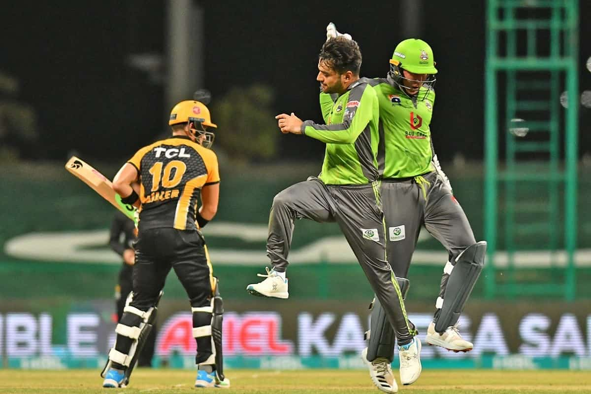 Cricket Image for PSL 2021: Rashid Khan's Fifer Helps Lahore Qalandars Beat Peshawar Zalmi By 10 Run