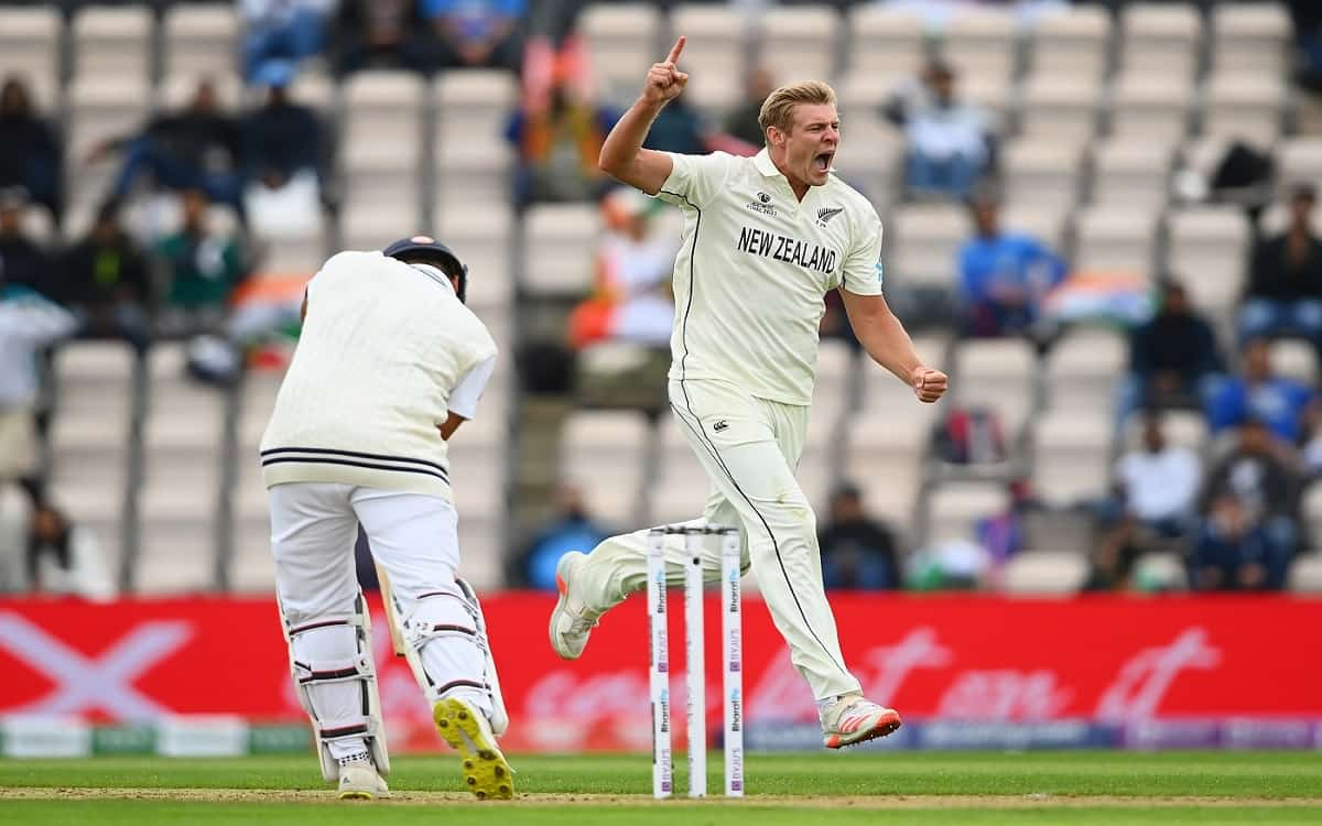 Cricket Image for New Zealands Best Bowling Returned The Indian Opening Pair To The Pavilion In Wtc