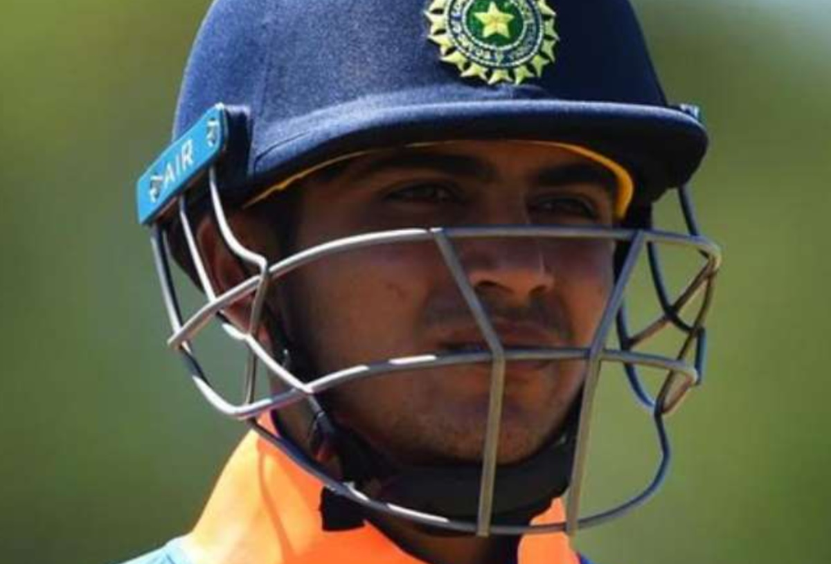 Cricket Image for Shubman Gill Talks About To Play First Ball Of The Test Match