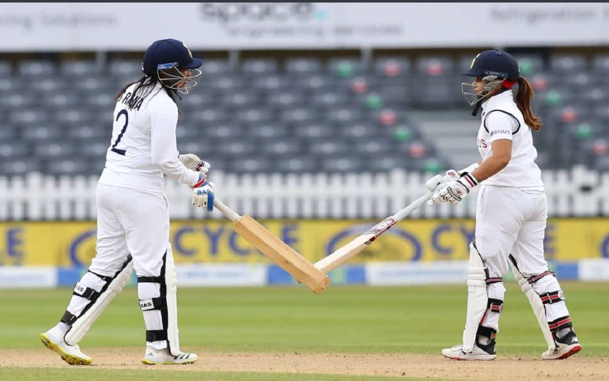 Cricket Image for Sneh Rana Who Played An Important Role In The Match Told How The Struggle Was Agai
