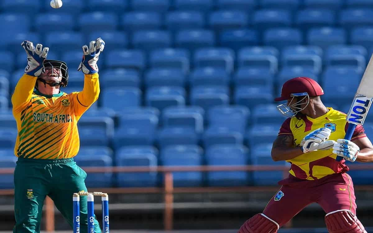 Cricket Image for South Africa Managed To Beat The West Indies By Just 1 Run In A Thrilling Match Th